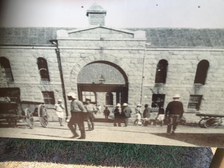 Trial Bay Gaol, Arakoon