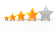 stock-photo-11345787-four-gold-stars-for-ranking