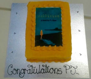 Collision cake